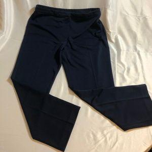 Susan Graver navy trousers 12 P